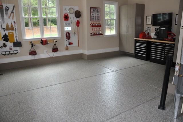 Custom Garage Makeover In Mooresville Nc Contemporary
