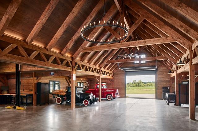 Custom Modern Barn - Farmhouse - Garage - Milwaukee - by ...