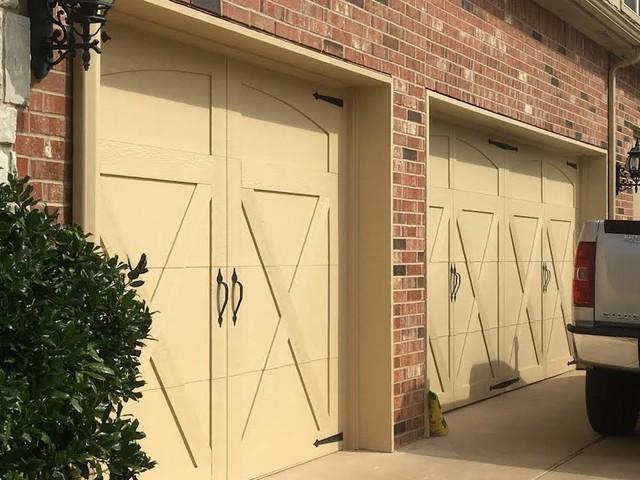 Custom smart trim farmhouse garage oklahoma city for Garage door repair edmond ok