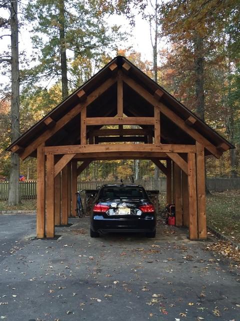 Custom Timber Frame Carport