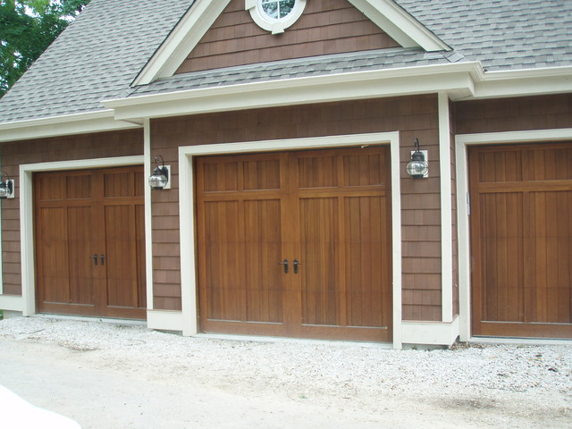 Custom wood doors for Farmhouse garage doors