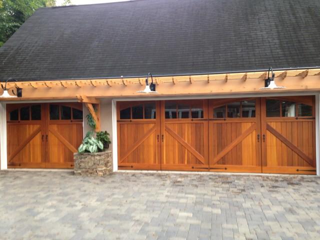 Custom Wood Doors - Craftsman - Garage - Atlanta - by ...