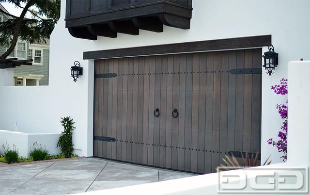Customized Wood Garage Door Gate