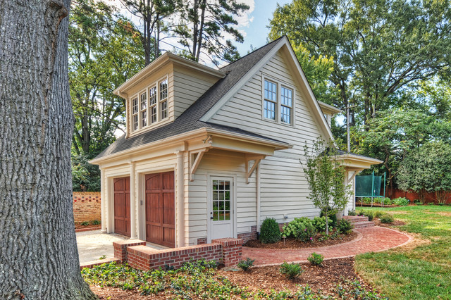 Inspiration For A Medium Sized Classic Detached Double Garage In Charlotte