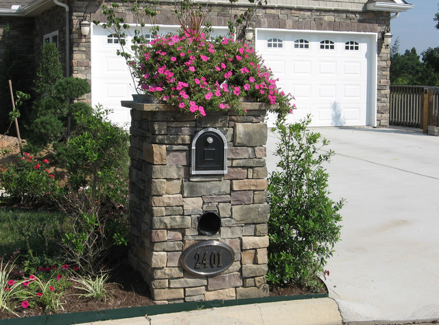 Mailbox Landscaping Design Mailbox Landscaping Design Ideas French Gardens  Elegant Brick Source. Better Homes And Garden Landscape Design Software Terrific Better