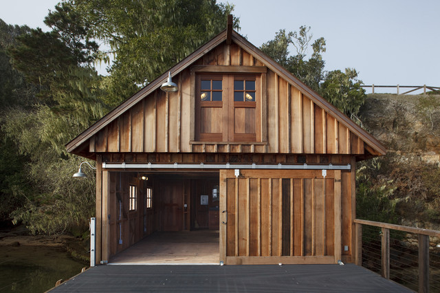 Boat House eclectic-exterior