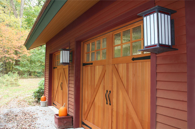 Edgewood contemporary-garage-and-shed