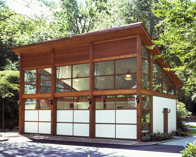 Eisner Design contemporary-garage-and-shed