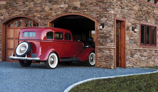 Eldorado Stone garage