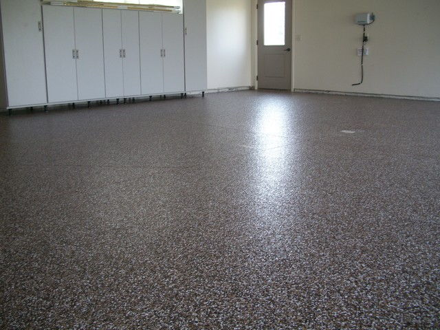 Epoxy - Modern - Garage And Shed - minneapolis - by Kwik Kerb of SD