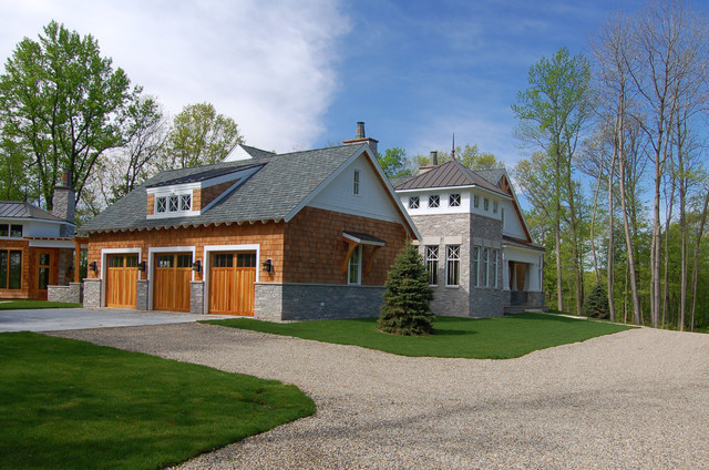 Exterior Images traditional-garage