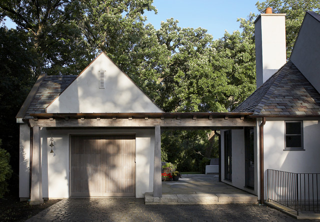 traditional garage and shed by Culligan Abraham Architecture