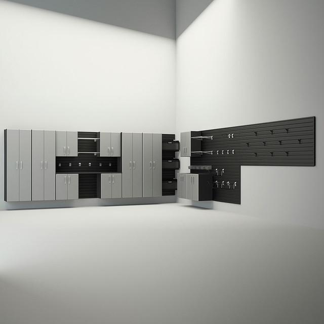 Flexible Garage Wall Storage: Flow Wall Storage Solutions