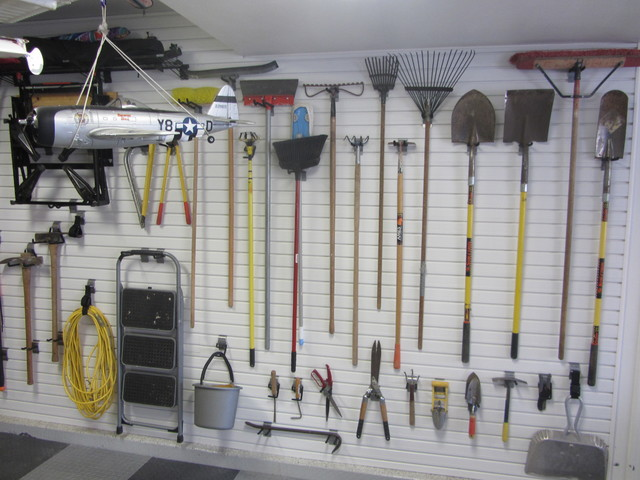 Attractive Flow Wall Storage Solutions Contemporary Garage