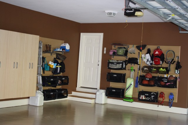 Flow Wall Storage Solutions Contemporary Garage And