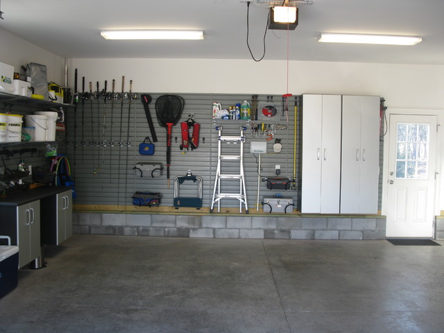 Flow Wall Storage Solutions Contemporary Garage