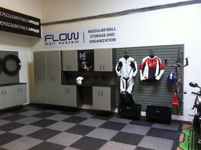 Flow Wall Storage Solutions Contemporary Garage Salt
