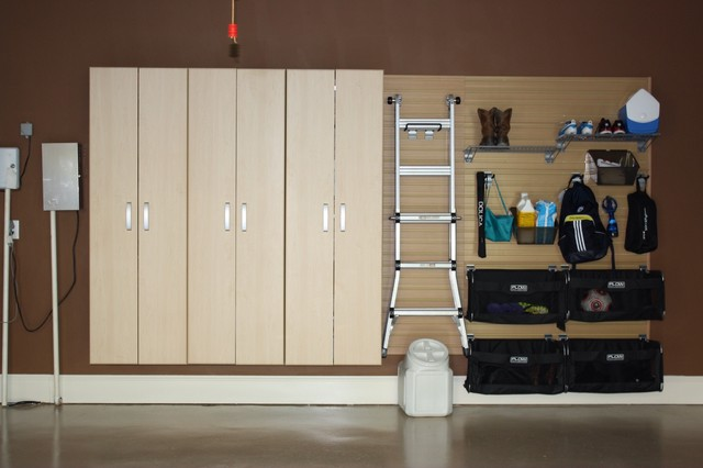 Flow Wall Storage Solutions contemporary-garage-and-shed