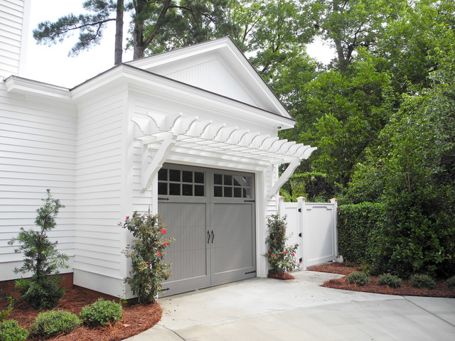 Garage addition traditional-garage-and-shed
