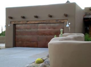 Garage & Wall