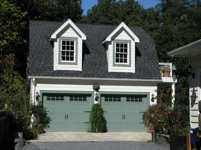 Garage apartment traditional garage charlotte by Garage apartment