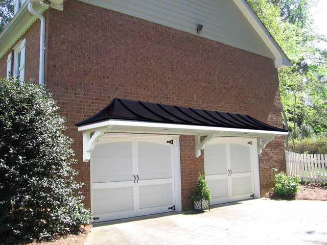 Garage arbors porticos traditional for Garage portico