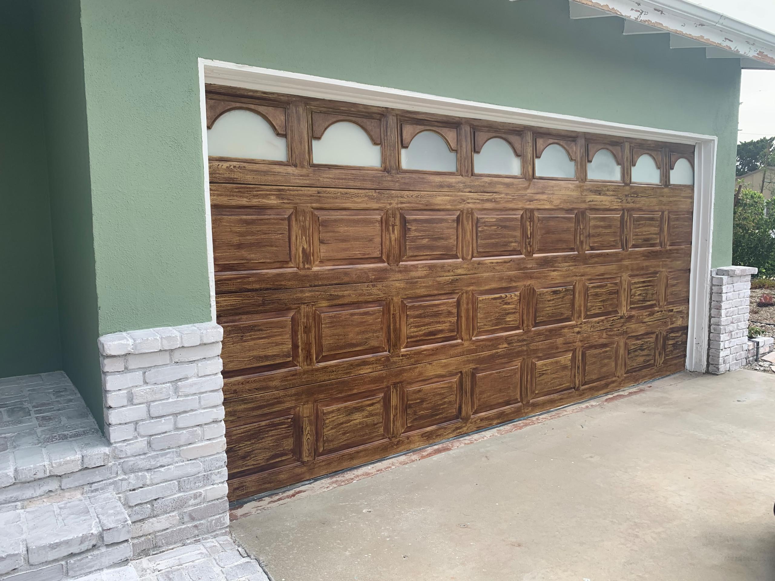 Garage Door Transformation
