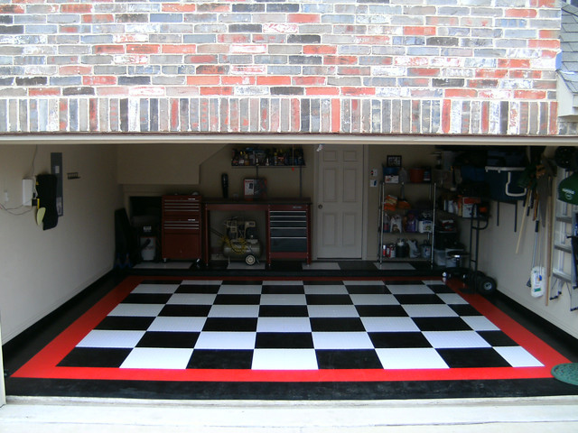 garage flooring craftsman dallas by ideal garage