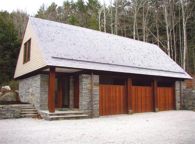 garage transitional-garage