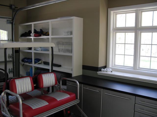 Delp garage makeover traditional-garage-and-shed