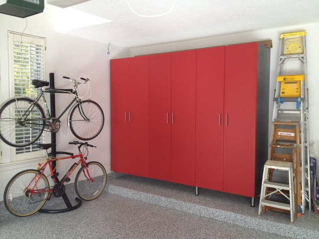 Garage Makeovers Contemporary Garage And Shed