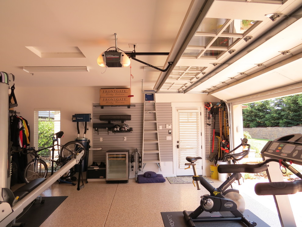 How to Turn That Dingy and Dank Garage into a Decorative Feast