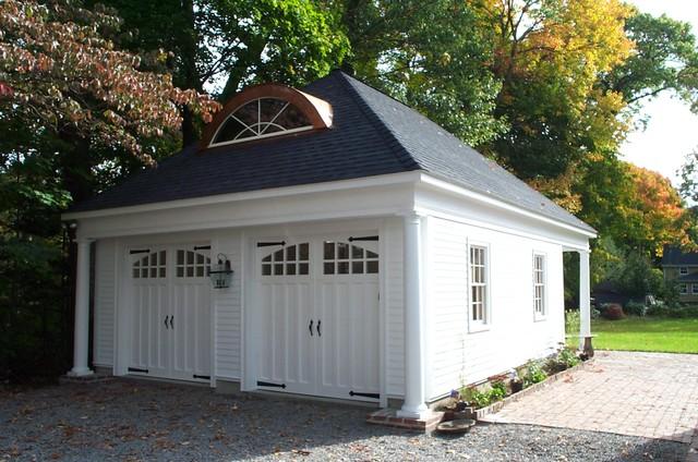 Wonderful Garage Outside Boston Traditional Garage