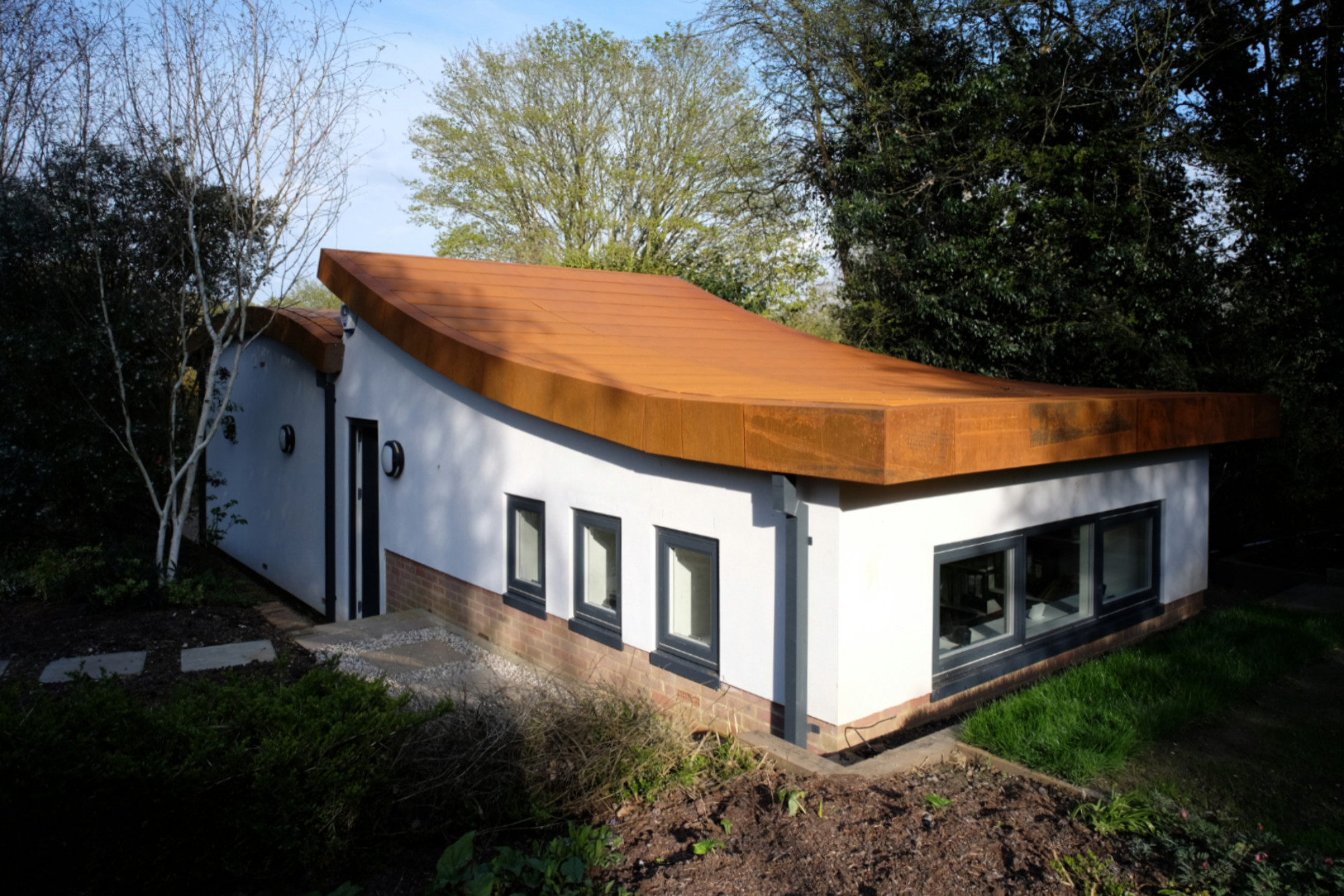 Garage to contemporary office