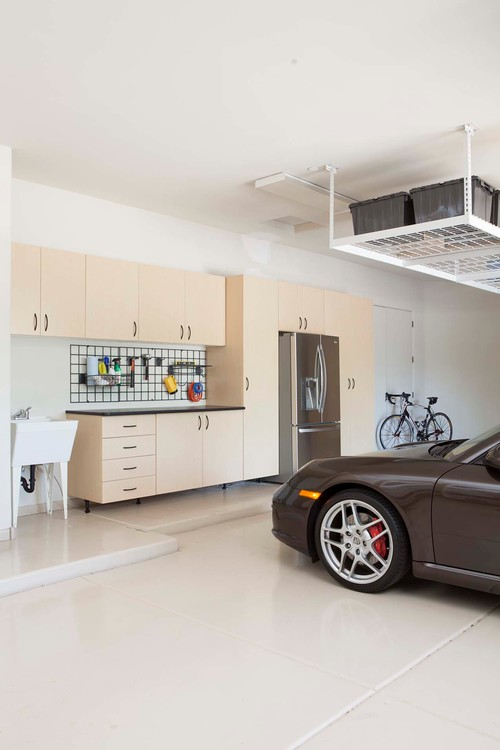 Clever storage ideas for spring abode - Modern garage storage systems for clean view ...