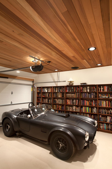 Garden House - modern-garage-and-shed