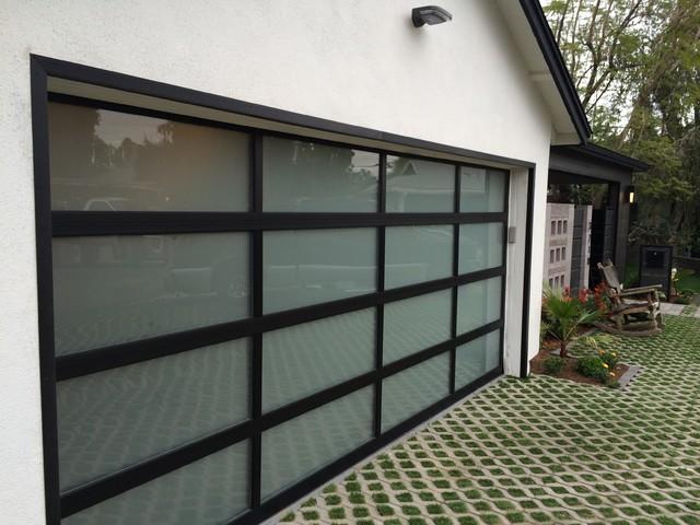 Glass Garage Doors Modern, Frosted Glass Garage Doors
