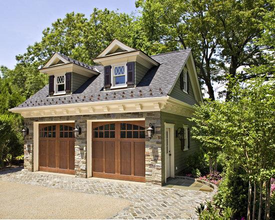 images brick front garage ideas - Detached Garage Loft Dormer Home Design Ideas