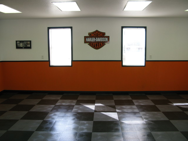 Harley Davidson Garage Two Contemporary And