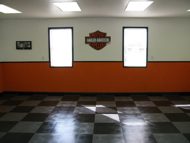 Harley Davidson Garage Two Contemporary Garage Other