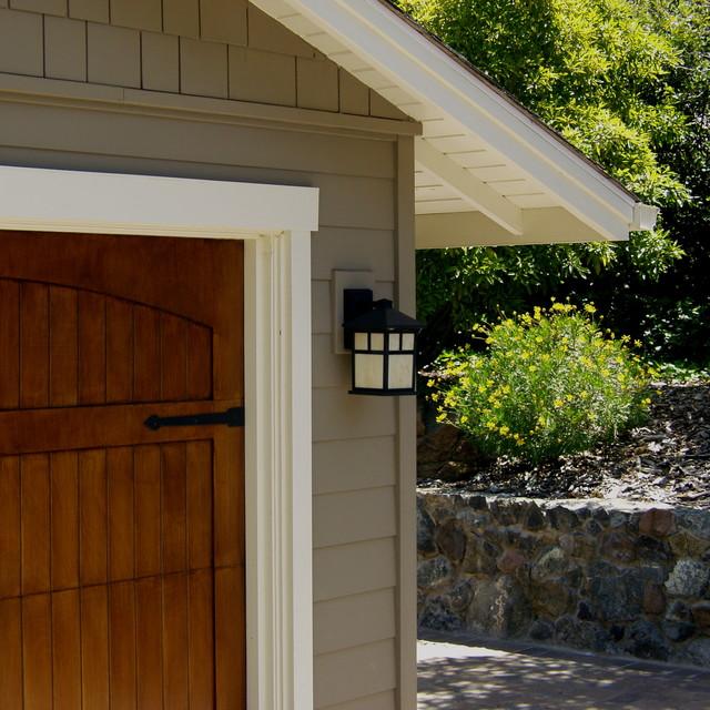 Hillsborough craftsman ranch craftsman garage san for Aggiunta di garage ranch rialzato
