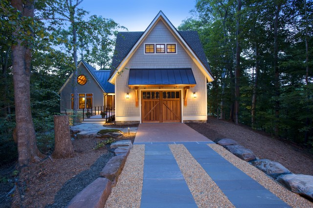 House in the woods - Craftsman - Garage - dc metro - by ...