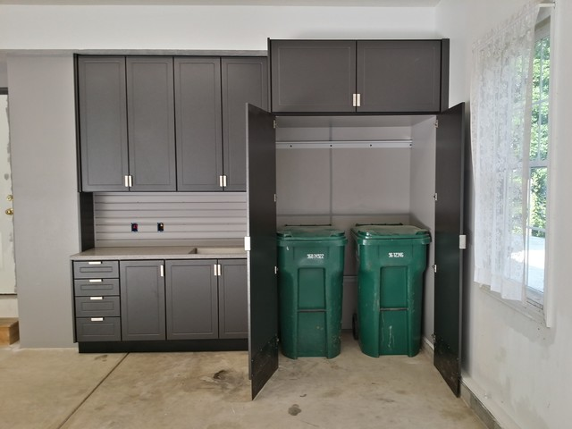 Genial Large Garage Cabinet Project   Chardon, OH   Industrial ...