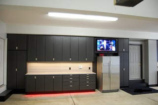 Large Garage Cabinet Project Chardon Oh Industrial