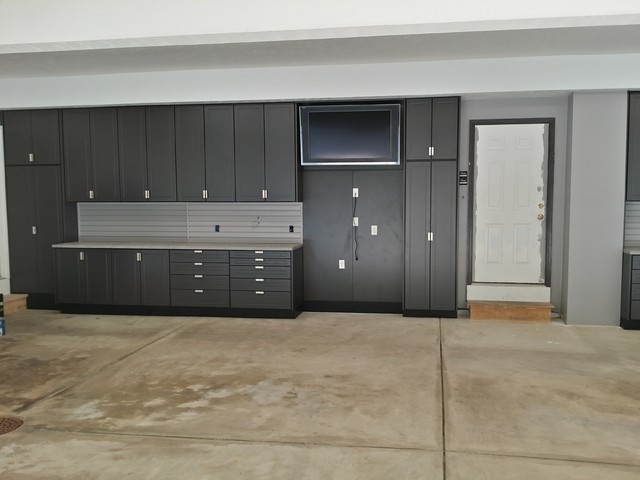 Large Garage Cabinet project - Chardon, OH - Industrial ...