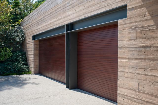 Longfellow Drive contemporary-garage