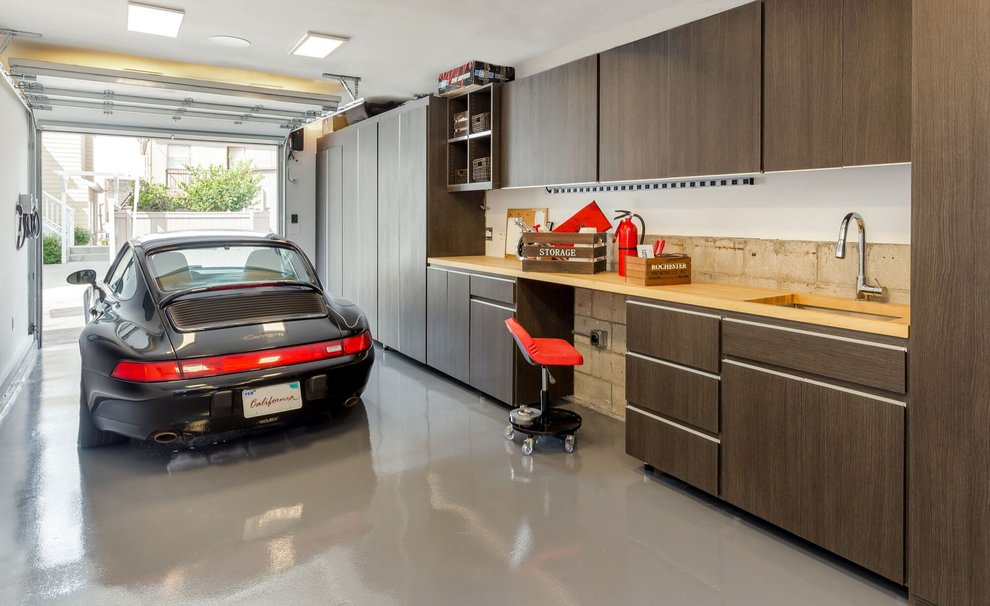 75 Beautiful Small Garage Pictures Ideas October 2020 Houzz