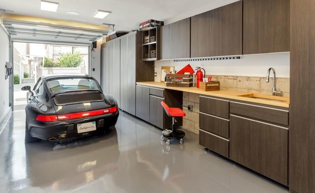 Luxury Garage Modern Garage Los Angeles By Closet Solutions