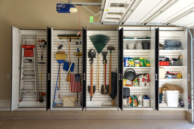 10 Smart Ideas From Beautifully Organized Garages on Organized Garage  id=23217