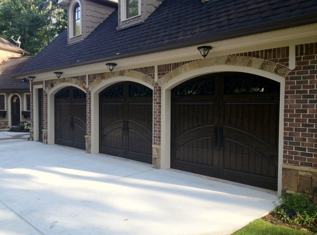dark brown garage doorsMasterpiece Garage Doors  Traditional  Garage  Atlanta  by